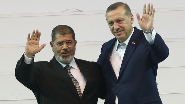 أردوغان يشترط الإفراج عن مرسي لعودة العلاقات مع مصر
