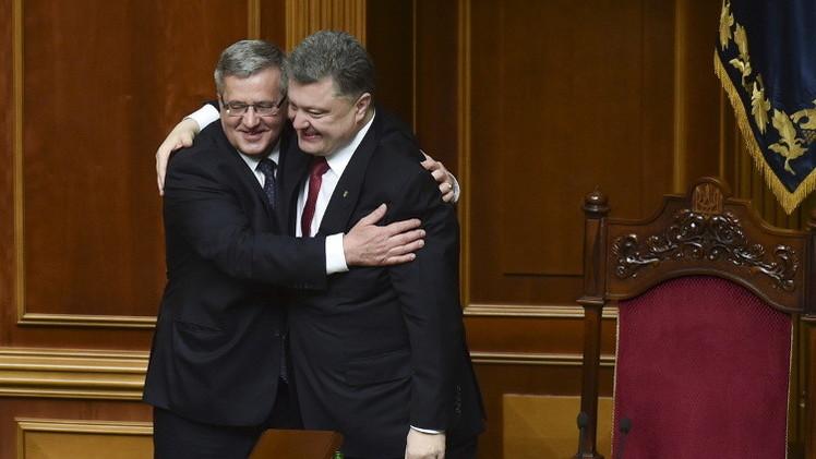 الرئيس البولندي يؤكد دعم بلاده لأوكرانيا