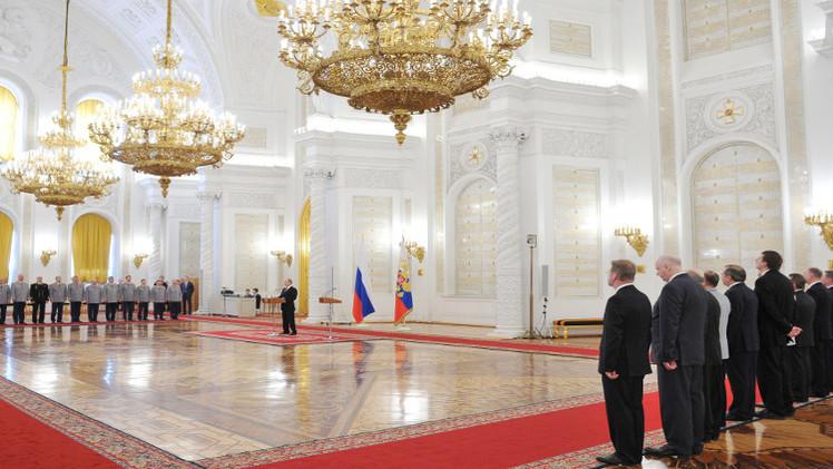 بوتين: جهاز الأمن الفدرالي أوقف 120 من أفراد العصابات