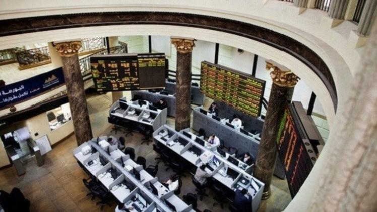 البورصة المصرية بالمنطقة الخضراء في نهاية الأسبوع