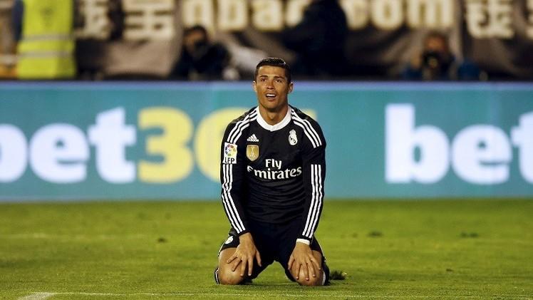 ريال مدريد يطعن ببطاقة رونالدو الصفراء