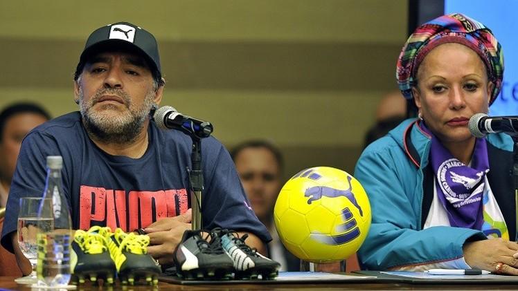 مارادونا: جوزيف بلاتر فاسد