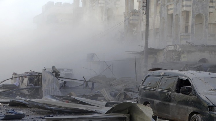 مقتل وإصابة 8 أشخاص بتفجير سيارة مفخخة في حمص