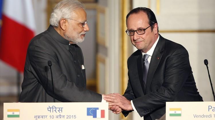 الهند تطلب شراء 36 مقاتلة رافال من فرنسا