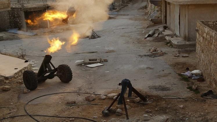 8 قتلى في قصف بالقذائف الصاروخية على حي السليمانية والسيد علي في حلب (فيديو)