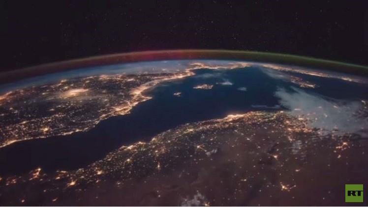 بالفيديو..جمال الأرض من الفضاء