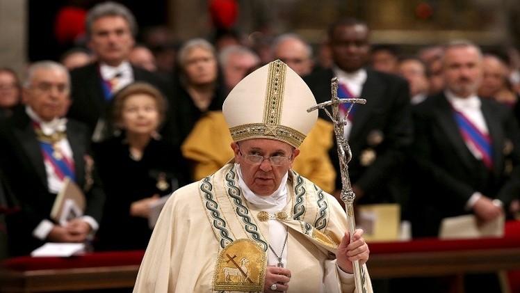 داود أوغلو: تصريحات البابا بشأن الأرمن