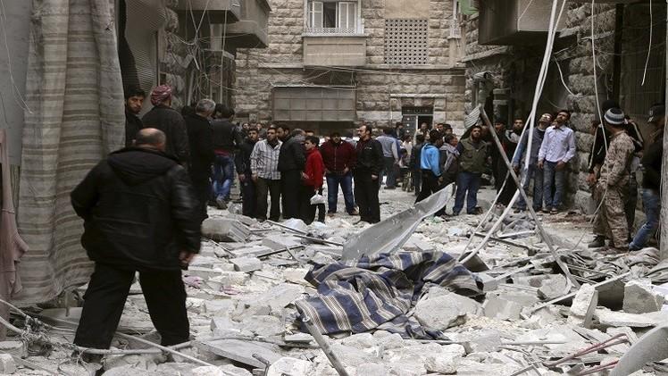 سوريا.. مقتل 9 أشخاص على الأقل في قصف شرق مدينة حلب