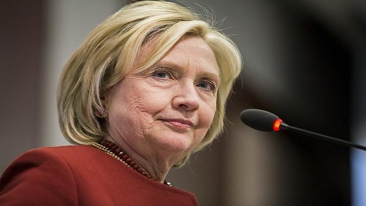 هيلاري كلينتون تعلن ترشحها للانتخابات الرئاسية الأمريكية