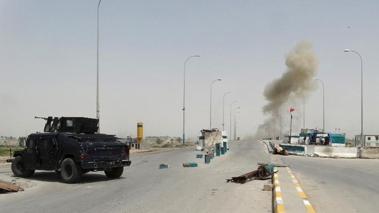 القوات العراقية تتصدى لهجوم