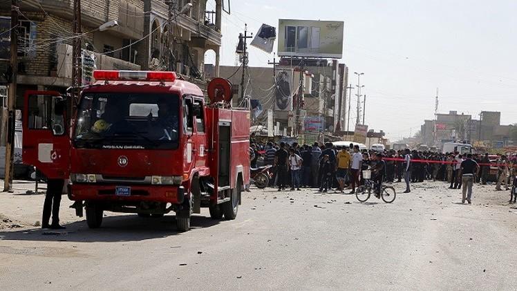 العراق.. 4 قتلى و19 جريحا بتفجير جنوب غرب بغداد