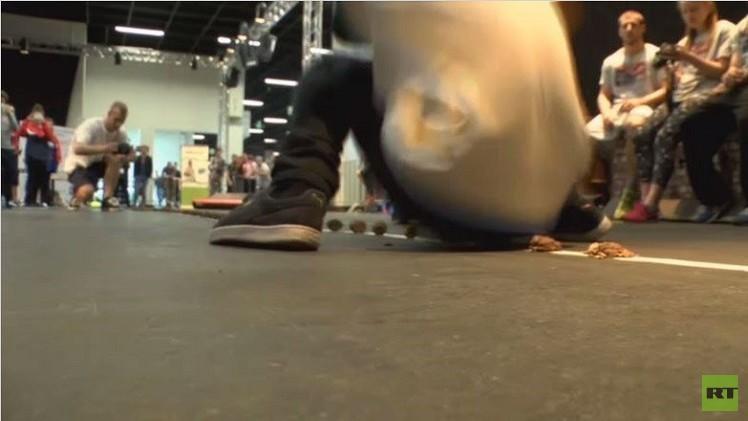 بالفيديو.. ويلي بروزمان يحطم رقما قياسيا طريفا