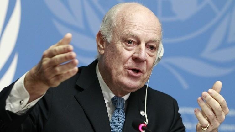 مصادر: دي ميستورا يسعى لاستئناف عملية التفاوض السورية في جنيف