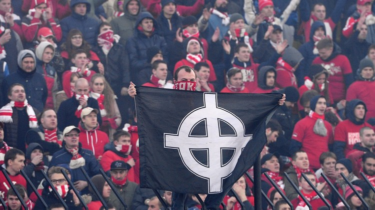 تغريم سبارتاك موسكو 12 ألف دولار بسبب لافتات عنصرية