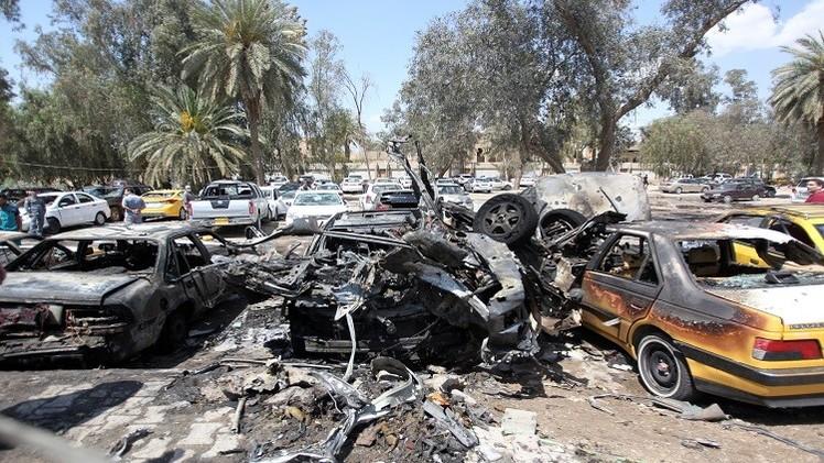 العراق.. مقتل مسؤول أمني وإصابة 3 مدنيين بانفجار سيارة مفخخة شمالبغداد