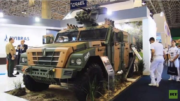 افتتاح معرض LAAD للأسلحة في ريودي جانيرو الأكبر من نوعه في أمريكا اللاتينية (فيديو)