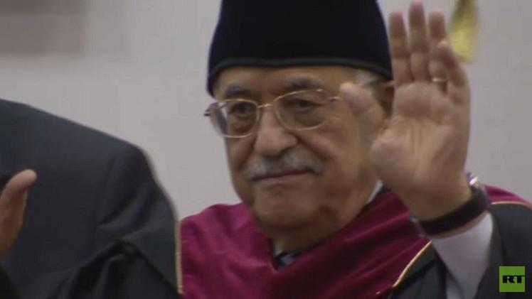 فيديو..منح الرئيس الفلسطيني محمود عباس الدكتوراه الفخرية في جامعة الصداقة