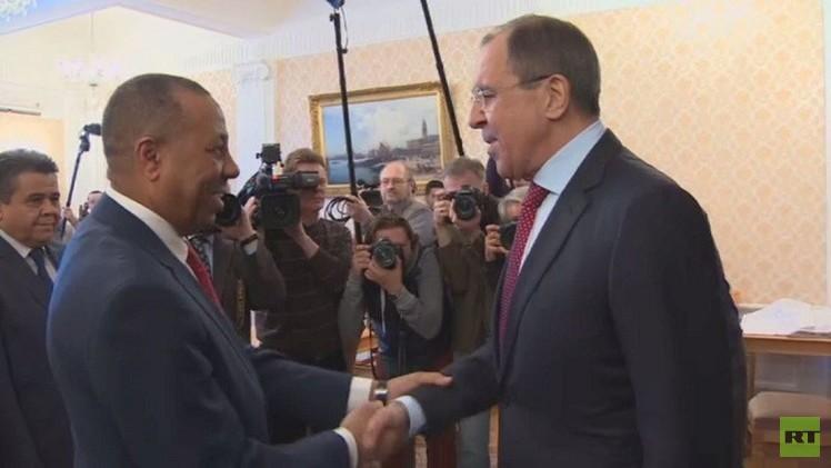 لافروف: ندعم جهود الحكومة الليبية في سبيل إعادة الوحدة الترابية للبلاد