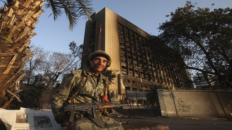 القاهرة تقرر هدم مقر الحزب الحاكم في عهد مبارك