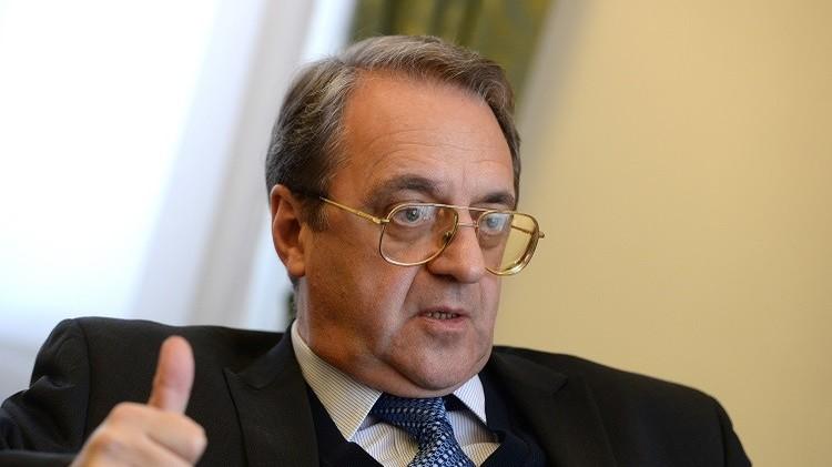 بوغدانوف: روسيا مستعدة لتزويد ليبيا بالأسلحة بعد رفع الحظر الأممي