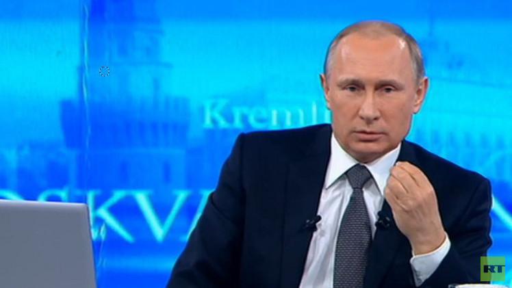 بوتين: لا وجود لقواتنا في أوكرانيا وتنفيذ اتفاقات مينسك ضروري