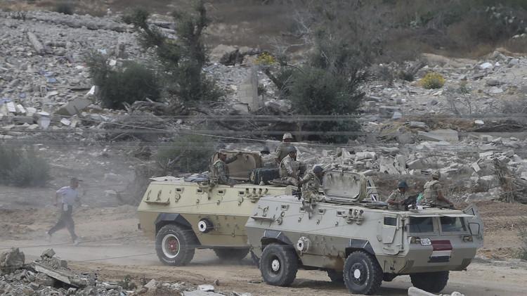 مقتل جندي وجرح 3 بانفجار عبوة ناسفة في سيناء