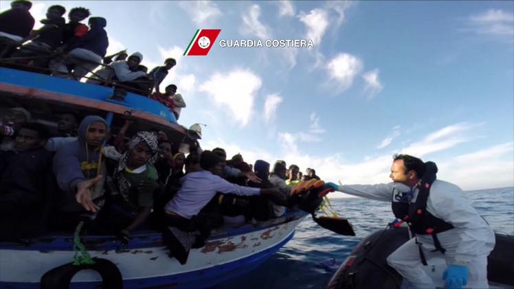 إيطاليا تطلب من الاتحاد الأوروبي دعما ماليا لعمليات إنقاذ المهاجرين غير الشرعيين