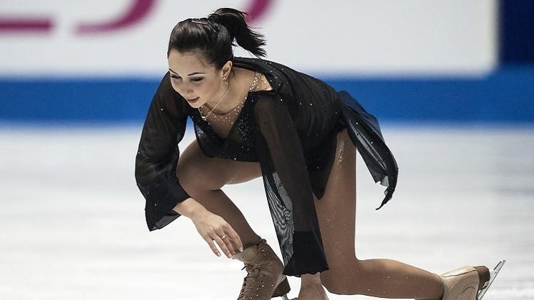 (فيديو).. الروسية يليزافيتا ثانية في بطولة العالم للتزحلق على الجليد للفرق