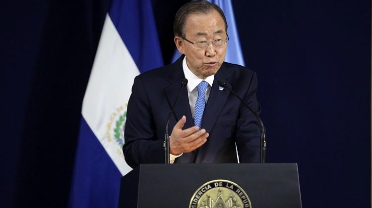بان كي مون: الأمم المتحدة ستسهم بفاعلية في تطبيق الاتفاق النهائي لنووي إيران