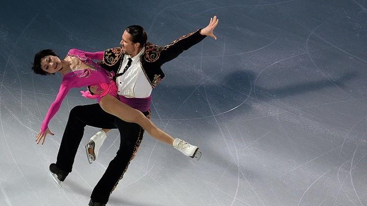 روسيا ثالثة في بطولة العالم للتزحلق على الجليد للفرق .. (فيديو)