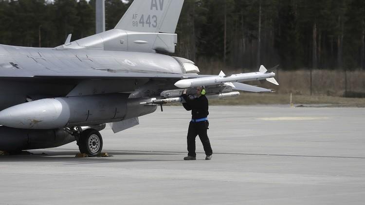 انتهاء تدريبات عسكرية بمشاركة مقاتلات أمريكية في إستونيا
