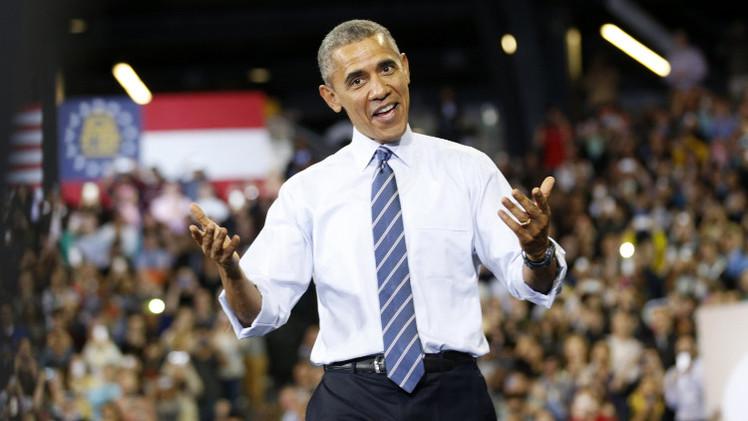 أوباما مندهش من أن روسيا لم تستأنف توريد