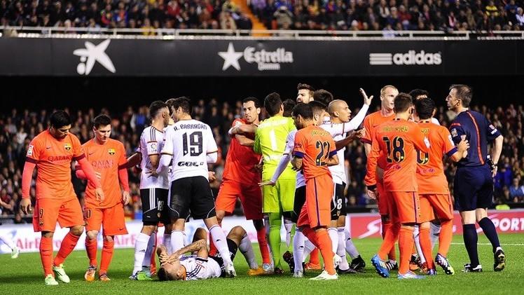 برشلونة في موقعة قوية أمام الخفافيش