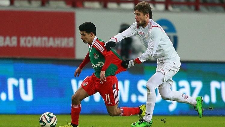 لوكوموتيف موسكو يعود من بيرم بخفي حنين
