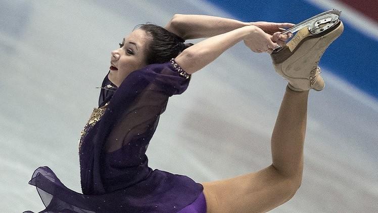 روسيا ثانية في بطولة العالم للتزحلق على الجليد للفرق .. (فيديو)