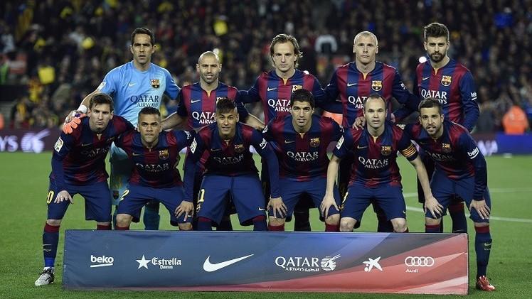 التشكيلة الأساسية لبرشلونة وفالنسيا