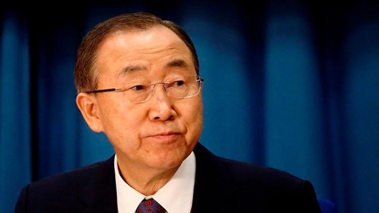 بان كي مون يدين تفجيرات أفغانستان ويدعو لمعاقبة المسؤولين