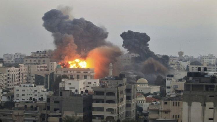 انفجاران منفصلان في غزة أحدها أمام مقر الأونروا