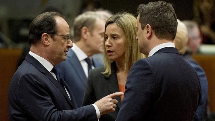 وزراء خارجية الاتحاد الأوروبي يبحثون الأوضاع في ليبيا والملف الإيراني