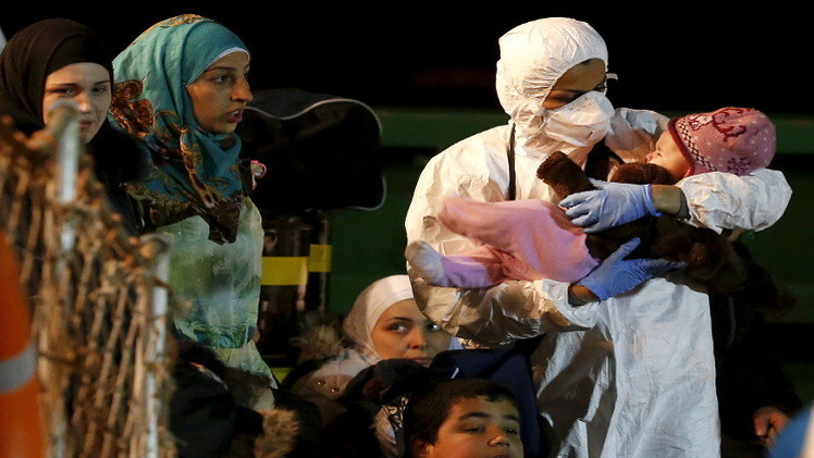 بان كي مون يدعو أوروبا إلى استقبال المهاجرين واللاجئين