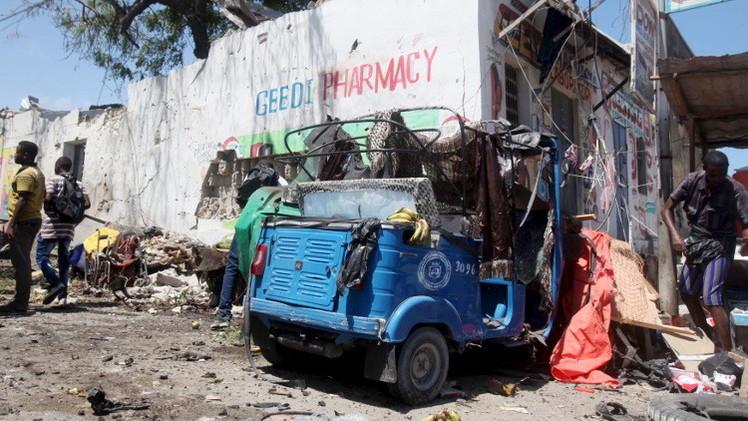 مقتل 9 أشخاص بتفجيرحافلة أممية في الصومال