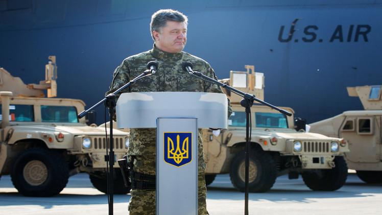 عسكريون أمريكيون يزورون منطقة النزاع بجنوب شرق أوكرانيا
