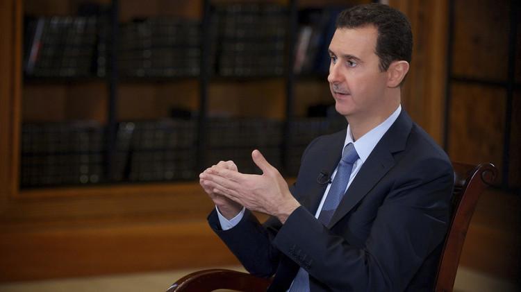 الأسد: توجد اتصالات بين الاستخبارات السورية والفرنسية