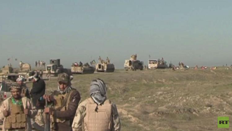 تواصل المعارك بين الجيش العراقي ومقاتلي