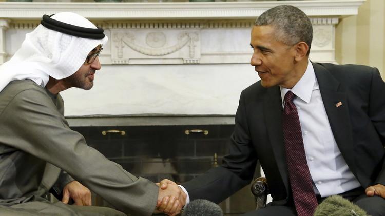 أوباما يبحث مع ولي عهد أبوظبي حاجة الإمارات إلى معدات عسكرية