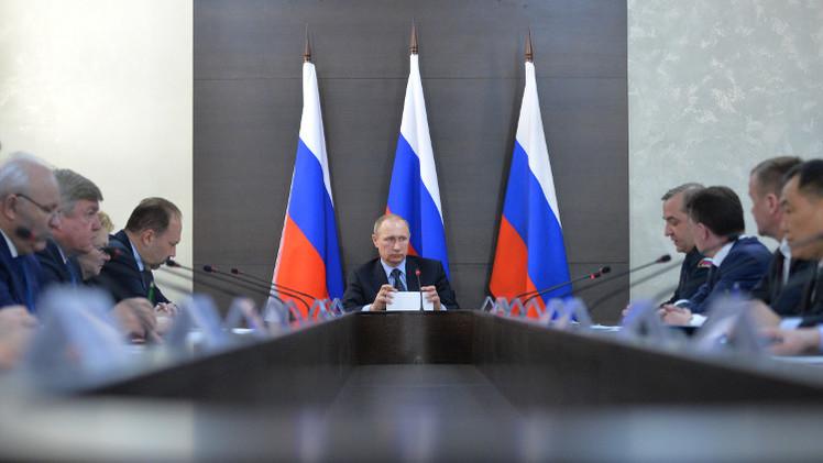 بوتين يرأس اجتماعا في خاكاسيا