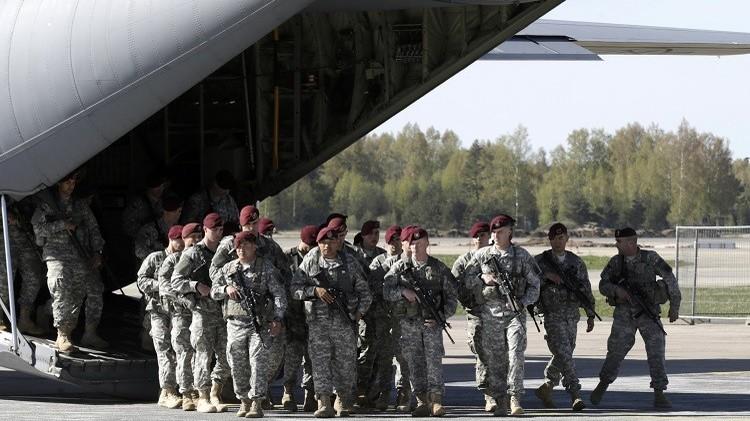تدريبات جوية واسعة النطاق لحلف الناتو في لاتفيا