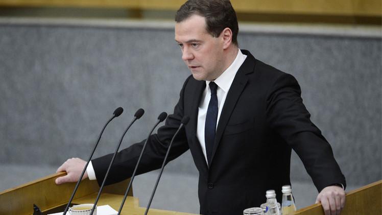 مدفيديف: مستوى إنتاج النفط في روسيا كاف للاستهلاك المحلي والتصدير