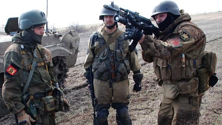 دونباس تتوقع استفزازات من قبل العسكريين الأوكرانيين