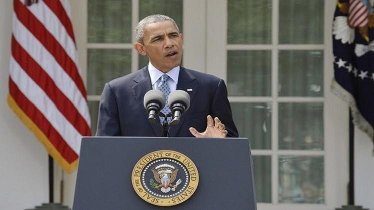 أوباما: أمريكا حذرت إيران من إرسال أسلحة لليمن
